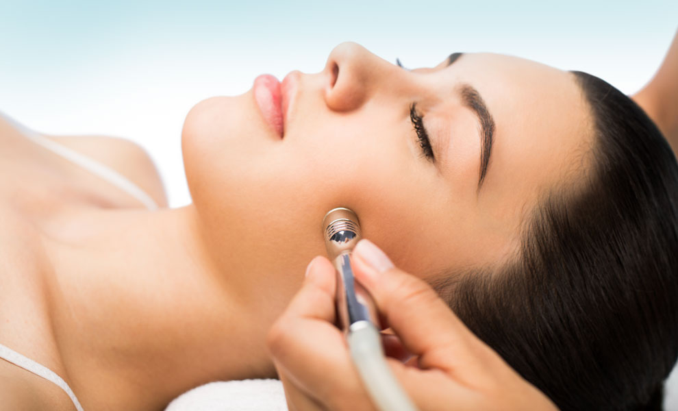 Microdermabrasion avec infusion